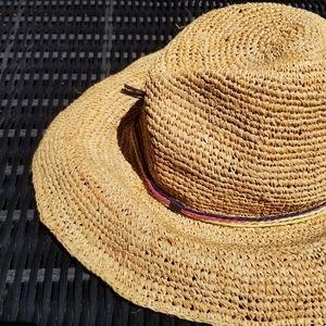 American Eagle   Hat Straw Sunhat   Summer Garden